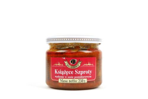 Książęce szproty wędzone w sosie pomidorowym 250g