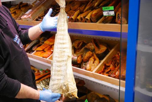 Suszony Sztokfish