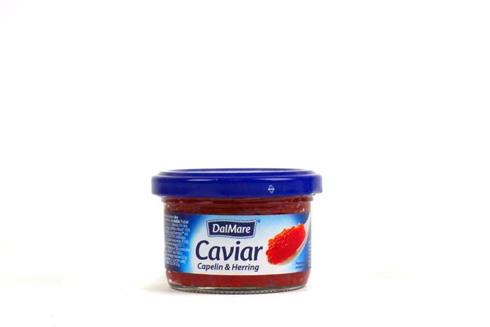 Czerwony kawior z ikry gromadnika i ikry śledzia 75 g