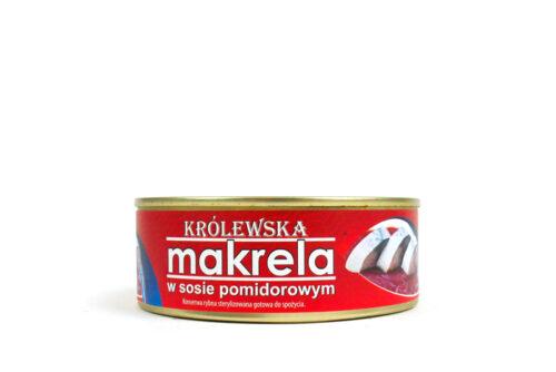 Królewska makrela w sosie pomidorowym 240g