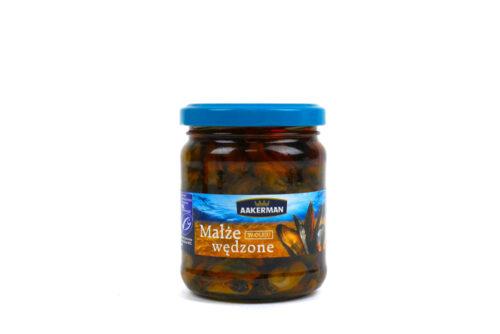 Małże wędzone w oleju