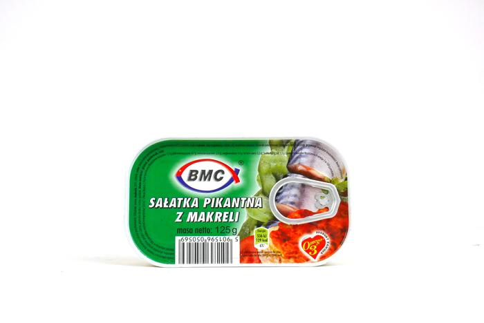 Sałatka pikantna z makreli 125g