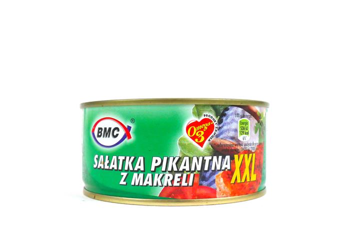 Sałatka pikantna z makreli 300g