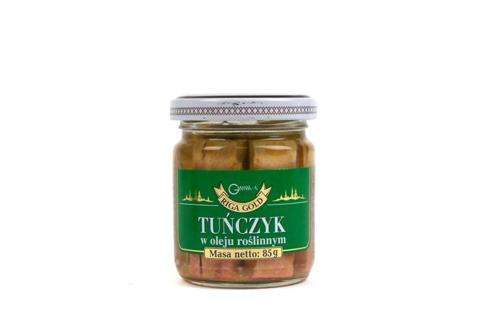Tuńczyk w oleju roślinnym 85g
